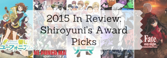 2015in reviewShiroyuni's Award Picks
