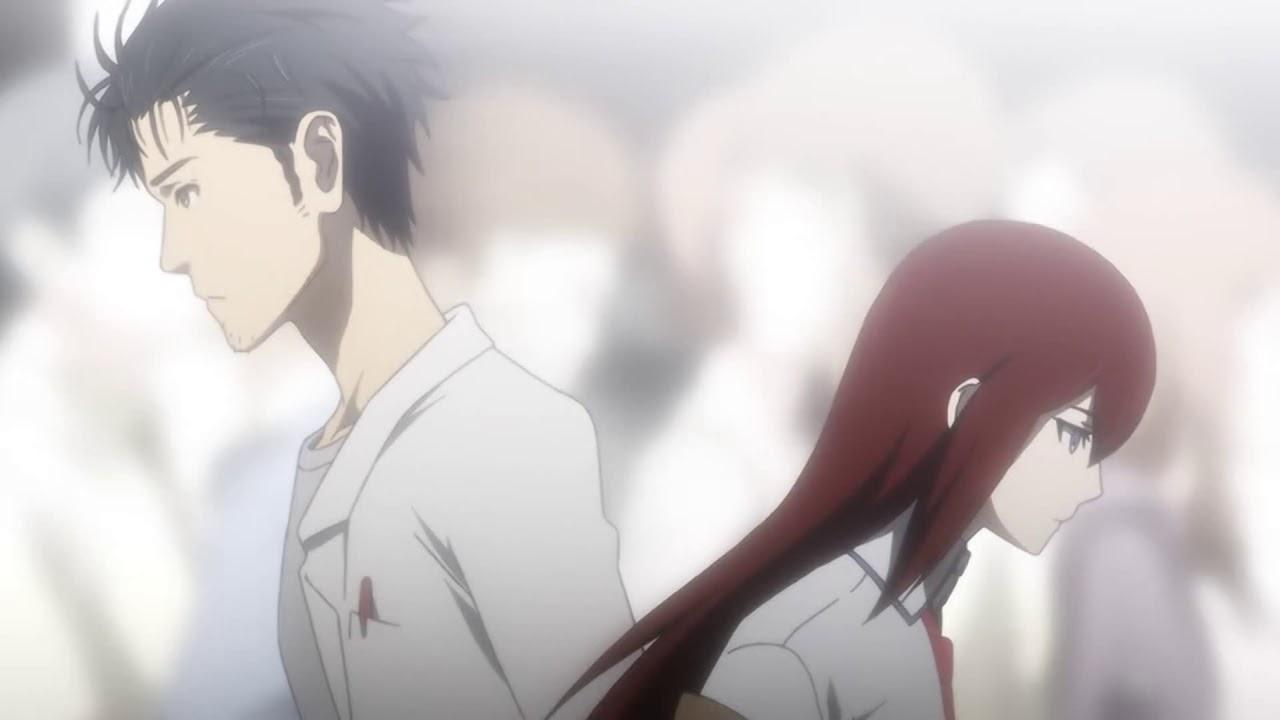 Steins Gate - Okabe and Kurisu - 1